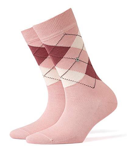 BURLINGTON Damen Socken Covent Garden - 80% Baumwolle, 1 Paar, Versch. Farben, Einheitsgröße (36-41) - Strumpf aus merzerisierter Baumwolle und typischen Argylemuster