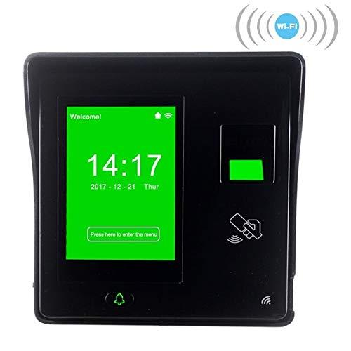 Relojes de tiempo para empleados pequeños negocios Estándar Wi-Fi de la huella digital del empleado máquina de la atención del personal de la pantalla Tiempo de seguimiento puerta de huellas dactilare