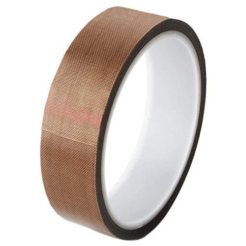 bobotron Teflonband / PTFE-Klebeband für Vakuumiergeräte, Hand- und Impulsversiegler (1 Zoll x 10 Fuß)