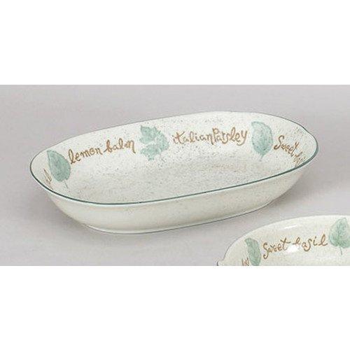 洋陶単品 ハーブガーデンベーカー [23.8 x 15.8 x 5.2cm] 料亭 旅館 和食器 飲食店 業務用