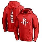 ANHPI James Harden # 13 Houston Rockets - camisetas de baloncesto de los hombres de fans masculinos formación sudaderas (Color : B, Size : M)
