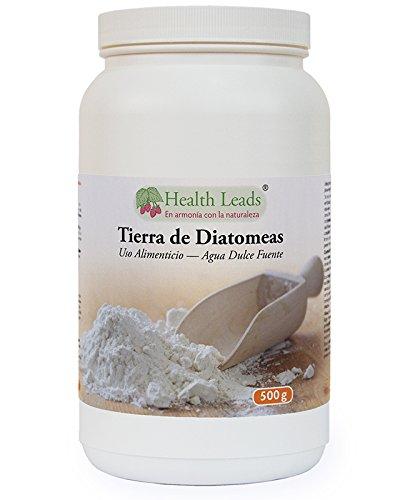 Polvo de tierra de diatomeas 500g (de agua dulce, de calidad alimentaria) 100% natural, sin estearato de magnesio y sin aditivos ni rellenos, ingredientes cuidadosamente obtenidos, fabricado en Gales