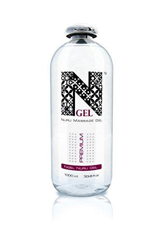 NGel Nuru Massage Gel Premium - besonders ergiebig für die extra seidige erotische Ganzkörpermassage (1x1000ml)