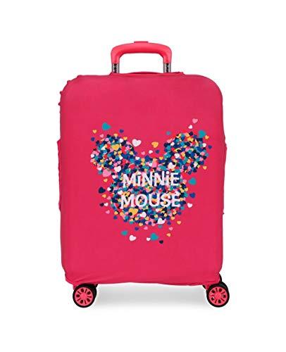 Disney Funda Para Maleta de Cabina Minnie Fucsia