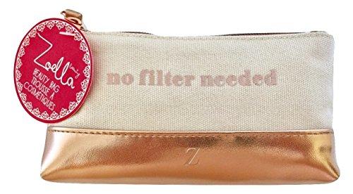 ZOELLA Polka Dot Cosmetic Purse No Filter Needed
