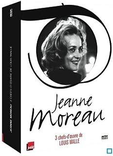 Jeanne Moreau - Coffret - Les amants + Ascenseur pour l'échafaud + Le feu follet + Jeanne M. Côté cour, côté coeur