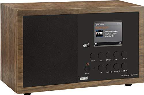 Imperial Dabman d 35 BT Digitalradio (Mono, Bluetooth 3.0, DAB+/DAB/UKW, inkl. Netzteil) Braun