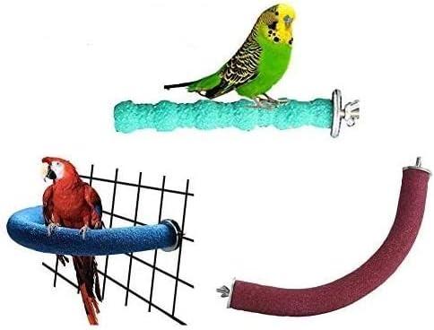 Litewood 3 PCS Bird Bargain sale Indefinitely Perch Stand Wooden Toys Set Parrot Pla