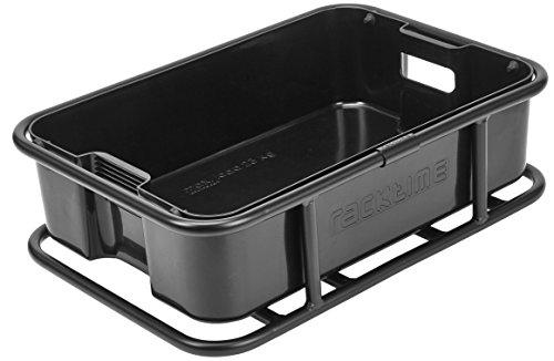 Racktime Boxit System Box, schwarz, 18 x 45,5 x 32 cm