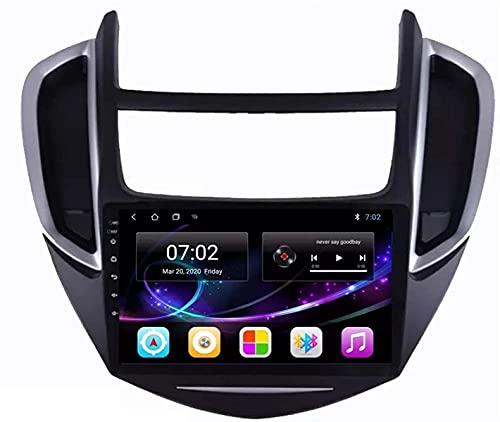 LYHY Navegador de Coche Android 10.0 Radio para Chevrolet Trax 2014-2016 Navegación GPS Unidad Principal de 9 Pulgadas Pantalla táctil HD Reproductor Multimedia MP5 Video con WiFi DSP SWC Mirrorink