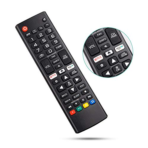 Angrox Universal Remote Control for LG-TV-Remote All LG LCD LED HDTV 3D Smart TV Models