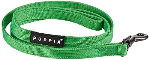 Puppia Authentic Two Tone Lead, Green, Medium