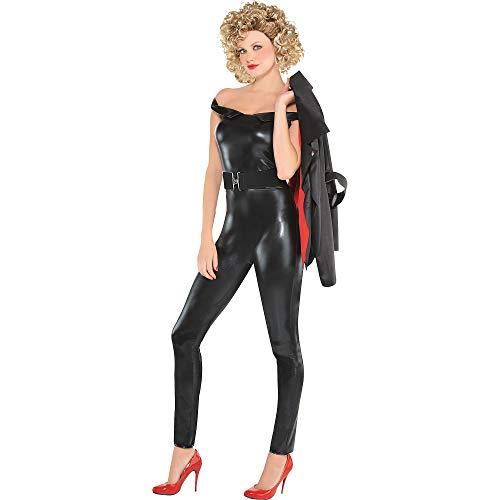 amscan 8401398 Grease Greaser Sandy Black - Adult Large