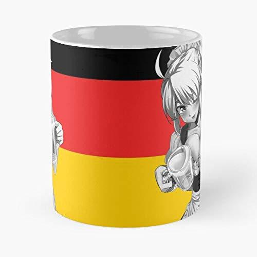 Desconocido Beer Munich Bavaria Party German Germany Oktoberfest Deutschland Best Mug Holds Hand 11oz Made from White Marble Ceramic