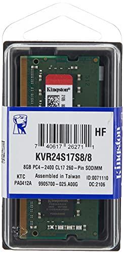 Kingston KVR24S17S8/8 Interner Speicher 8GB