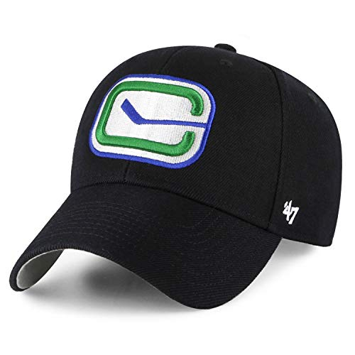 47 Brand Adjustable Cap - MVP Vancouver Canucks schwarz