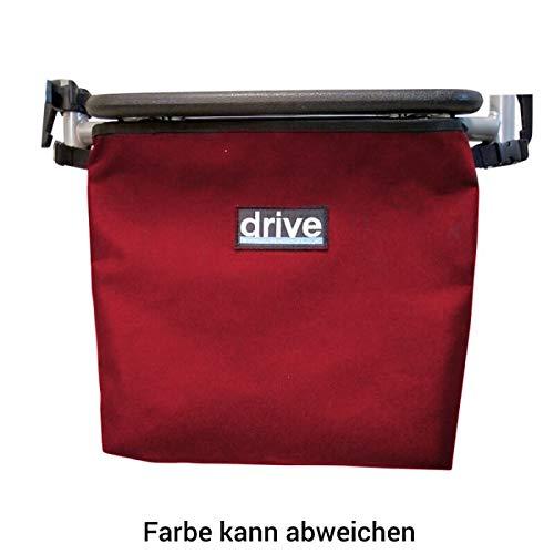 Einkaufs-Tasche Drive Medical für Rollstühle und Rollatoren Rot