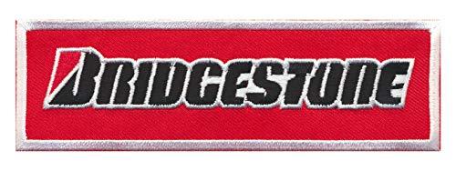 Bridgestone - Parche termoadhesivo, diseño de motorista