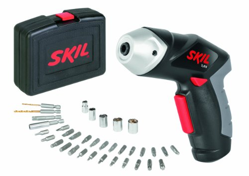 Skil F0152436AC Atornillador 2436AC, 3.6 W, 3.6 V, Negro