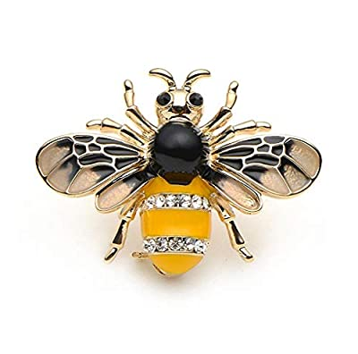Jana Winkle Insect Bee Brooches Pines Metalicos Enamel Pins Metal Insect Brooche Banquet Broche