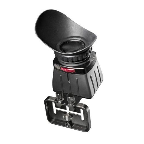 Walimex Pro Viewfinder Easy View Displaylupe Sucherlupe für 3 Zoll Display (Vergrößerung 2,5-fach) mit Kamerahalterung für System- und DSLR Kamera