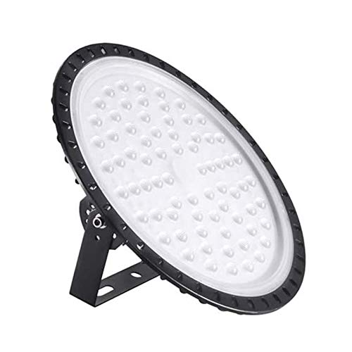 LED Alta Luce Della Baia, Bellanny 500W Lampada Industriale, 40000LM Proiettore Faretto LED, 6500K Bianco Freddeo UFO Luce da magazzino, per Garage, Stadio coperto, Centri logistici
