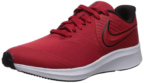 Nike Unisex-Kinder Star Runner 2 Traillaufschuhe, Rot (University Red/Black/Volt 600), 38 EU