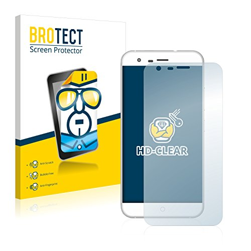 BROTECT Schutzfolie kompatibel mit Ulefone Paris (2 Stück) klare Bildschirmschutz-Folie