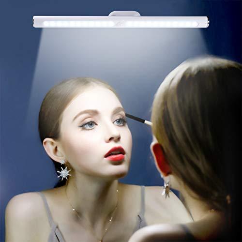 Auplew LED Spiegel Lichtleiste Kabellose Badleuchte Schminklicht Badezimmer Wandleuchte Spiegelleuchten Beleuchtung Schrankleuchte