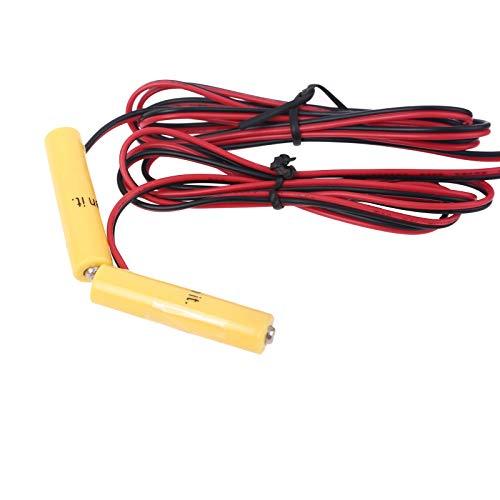 Eliminador de pilas USB a Dual LR6 LR03, cable de alimentación para pilas sustituye a 2 pilas AA AAA de 1,5 V