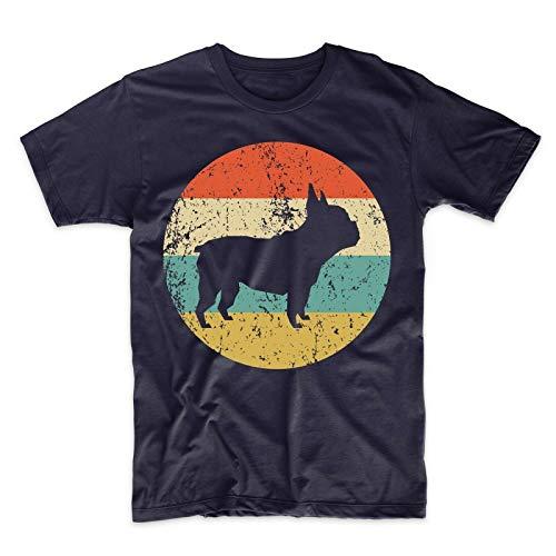 Camisa de Bulldog francés - Retro Bulldog francés, Camiseta de Verano de Moda...