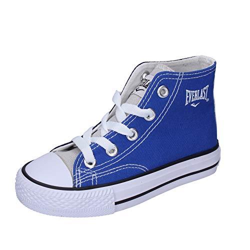 Everlast Sneaker Bambino Tela Blu 33 EU