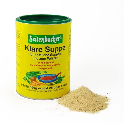 Seitenbacher Klare Suppe ohne Fett, 1er Pack (1 x 500 g)
