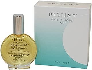 Destiny By Marilyn Miglin For Women. Bath & Body Oil 1.0 Oz / 30 Ml