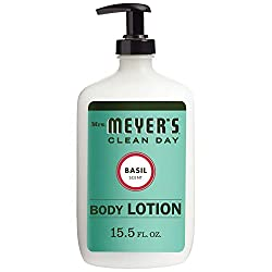 Mrs. Meyer's Clean Day Body Lotion, Long-Lasting, Non-Greasy Moisturizer