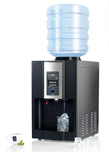 Rosenstein & Söhne Eiswürfelmaschine: Heiß-Kalt-Wasserspender & Eiswürfelbereiter HKE-700 (Kaltwasserspender für zu Hause)