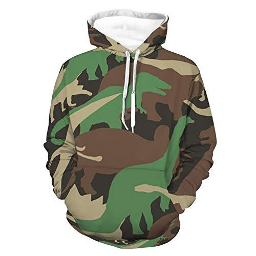 Sudaderas con capucha para hombres y mujeres camuflados AnimalsHoodie Sportswear Athletic Teens Club Pullover Shirt No Fleece Sudadera con capucha