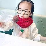LIUQIAN Infantil Bufanda Hecha Punto Invierno cuatrocientos Muchachos niña bebé Caliente Cuello rábano Cuello Set 120 * 19cm