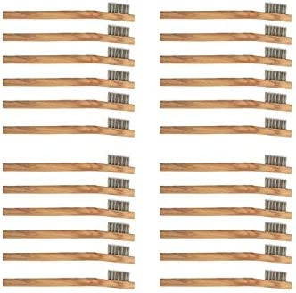 24 Pack Stainless Steel Wire Brush Tooth Brushes product image
