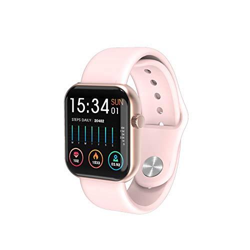 LIQIANG Reloj Inteligentes, IP67 Smartwatch, Pulsera Deportiva Inteligente para Niños y Niñas, con Contador De Calorías De Monitor De Sueño, Podómetro De Monitorización De La Frecuencia Cardíaca