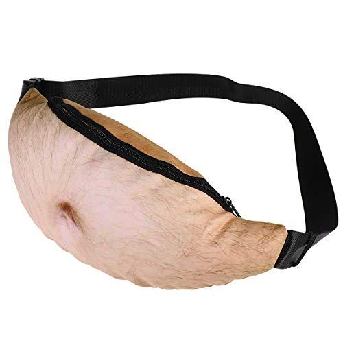 WINOMO Unisex Bauch Taille Taschen Gürteltaschen Dadbag lustig
