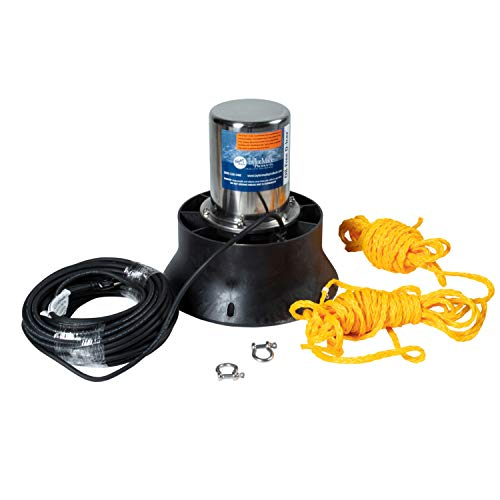 TAYLOR MADE PRODUCTS 1/2 HP Marine D-Icer with 50' Power Cord for Ponds & Lakes