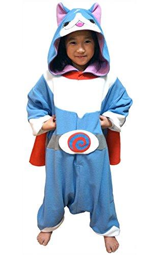 着ぐるみ 子供用 130cm フリース 妖怪ウォッチ 【 フユニャン 】 ban017h