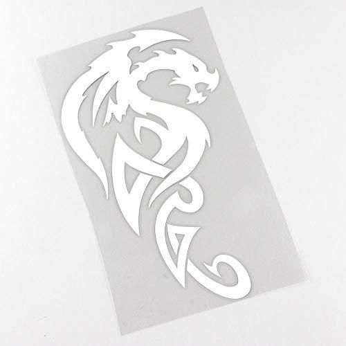 QULIN 9.9CMX17CM Cartoon Drachen Monster Fantasy Aufkleber Auto Aufkleber
