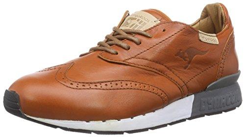 KangaROOS Herren Coilybrid Sneakers, Braun (cognac 360), 46 EU
