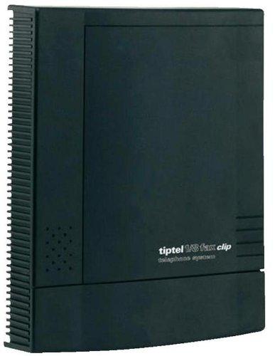 Tiptel 1, 8 fax clip Handyanlage 1Amtsleitung 8Nebenstellen schwarz