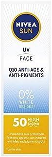 [Nivea ] ニベアサンUvフェイスSpf 50 Q10抗加齢&抗顔料50ミリリットル - NIVEA SUN UV Face SPF 50 Q10 Anti-Age & Anti-Pigments 50ml [並行輸入品]