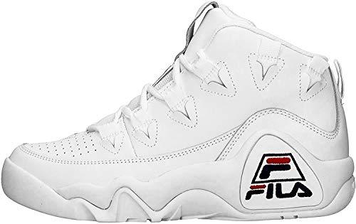 Zapatillas Altas para Hombre FILA 95 en Cuero Blanco 1010579-1FG
