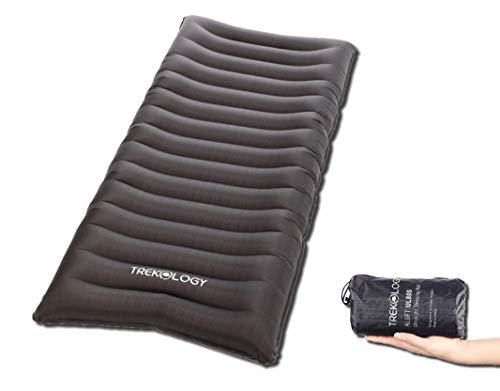 TREKOLOGY Isomatte aufblasbar, Sleeping Pad, Camping Luftmatratze - UL80 aufblasbare Isomatte Camping Isomatte Isomatte Ultraleicht, Isomatte leicht kleines Packmaß