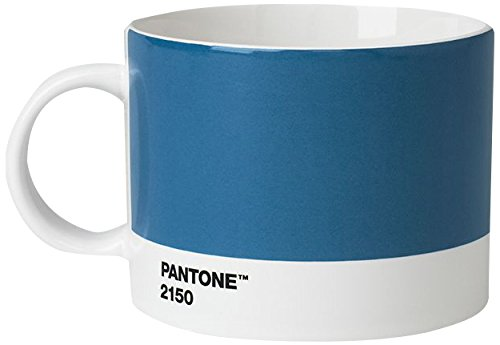 Copenhagen design Pantone Cup, Tea/Coffee Mug, fine China (Ceramic), 475 ml, Blue, 2150 C, Porcellana, One Size
